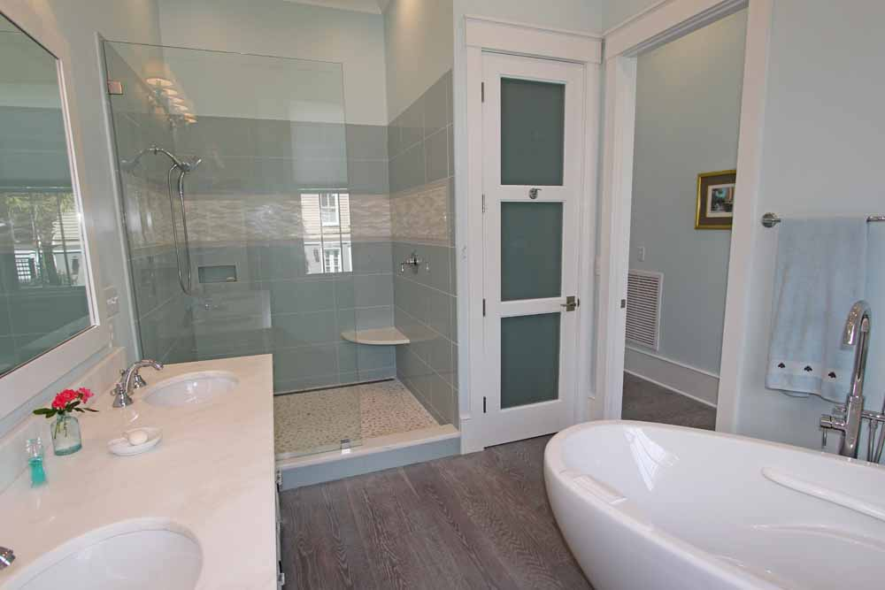 Bathroom design trends of 2016 main bath with two sinks for Master bathroom colors 2016